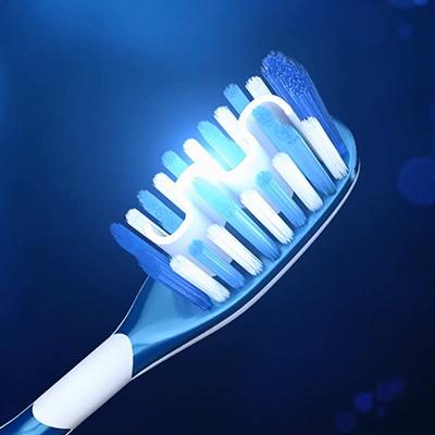 Testina dello spazzolino Mentadent White System