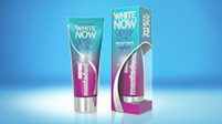 Dentifricio sbiancante Mentadent White Now Glossy Chic