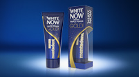 Dentifricio sbiancante Mentadent White Now Gold